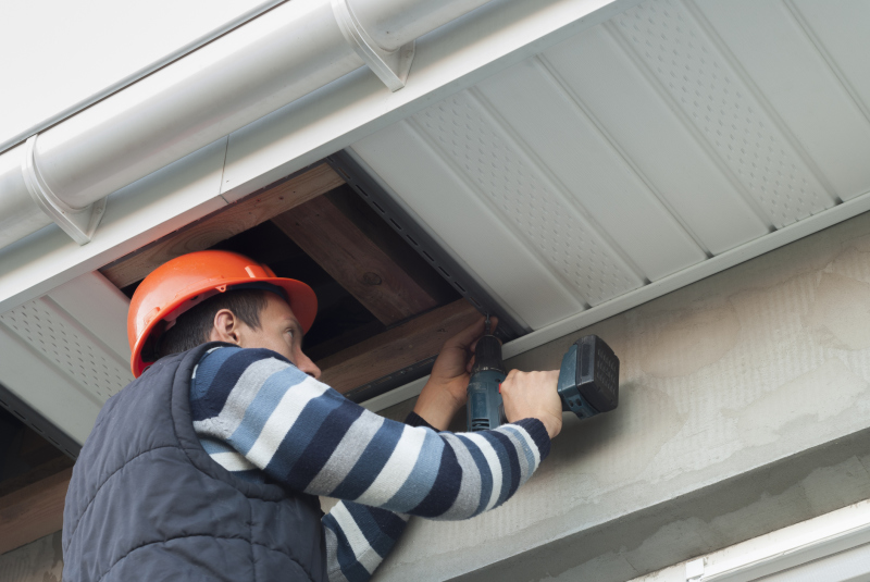 We Answer Your Questions About Soffits Fascia And Flashing Hamblet S Roofing Siding Windows In Niagara